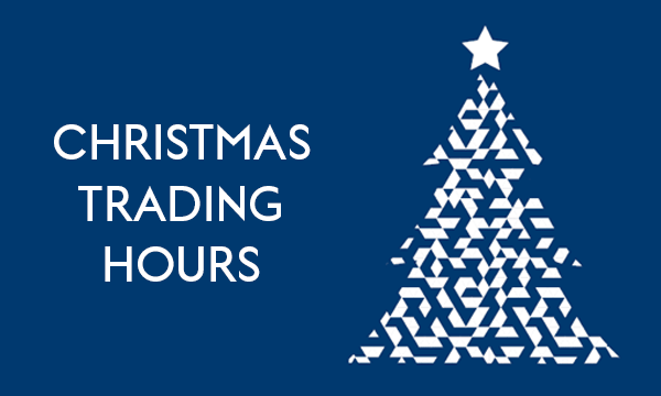 Holiday Period Operating Hours