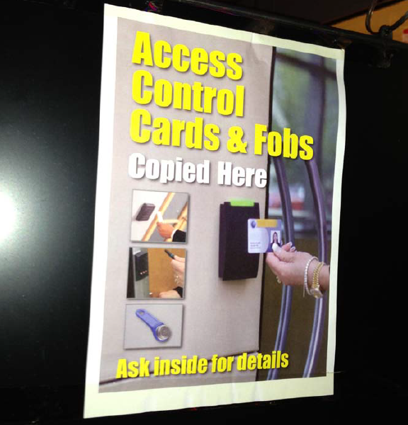 Access Control Fobs are being copied far too often!